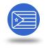 icono bandera cuba