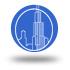 icono torre shanghai