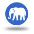 icono elefante