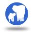 icono elefantes
