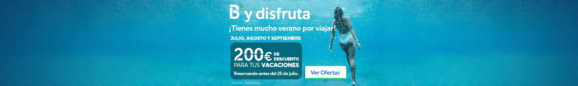 Ofertas B y Disfruta - B the travel brand