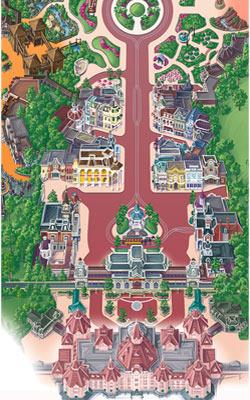 mapa parque disneyland