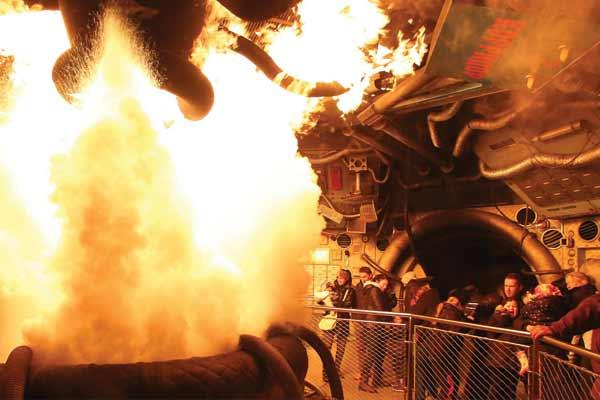 Parque Walt Disney Studios - Atraccion Armageddon: Special Effects
