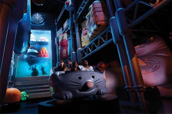 Atraccion Ratatouille: L'Aventure Totalement Toquée de Rémy - Walt Disney Studios