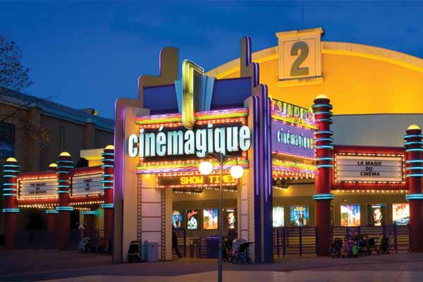 atraccion CineMagique - Walt Disney Studio