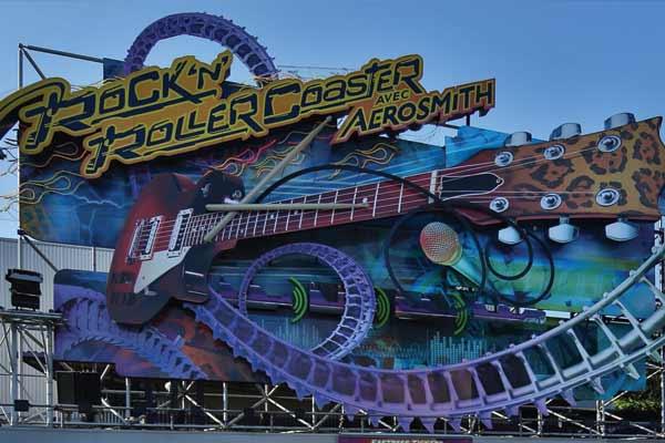 Parque Walt Disney Studios - Atraccion Rock