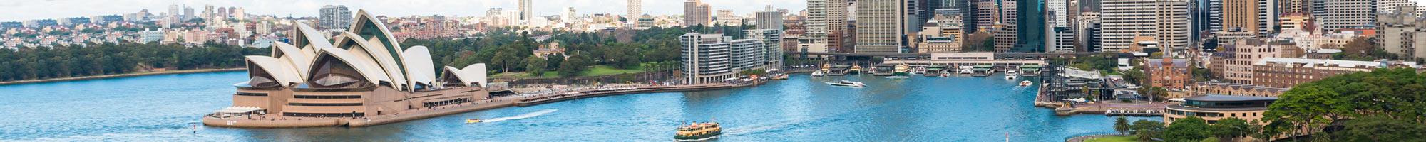 Hoteles en Oceanía