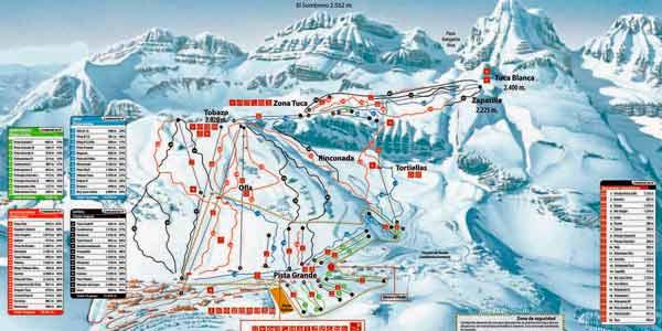 Mapa Candanchu
