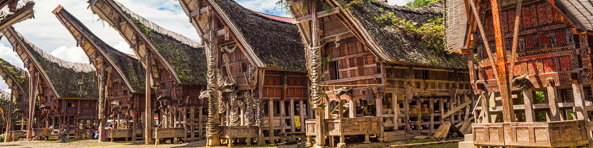 Tongkonans Torajan casas, Indonesia - El Pais Viajes