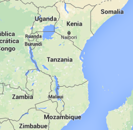 mapa Tanzania - El Pais Viajes