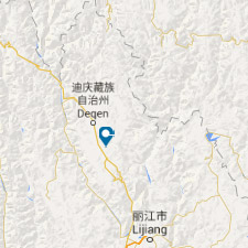 Mapa zhongdian- viaje a China, Yunnan - El Pais Viajes
