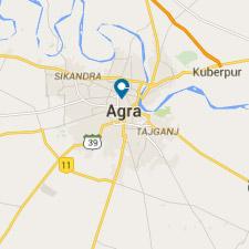 Mapa Agra - Viaje a La India - El País Viajes