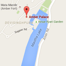 Mapa Amber Palace - Viaje a La India - El País Viajes