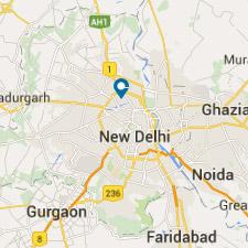 Mapa Delhi- Viaje a La India - El País Viajes