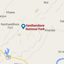 Mapa ranthambore - Viaje a La India - El País Viajes