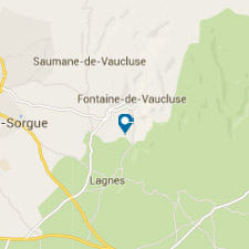 Mapa Provence - Viaje a La Provenza de Luberon