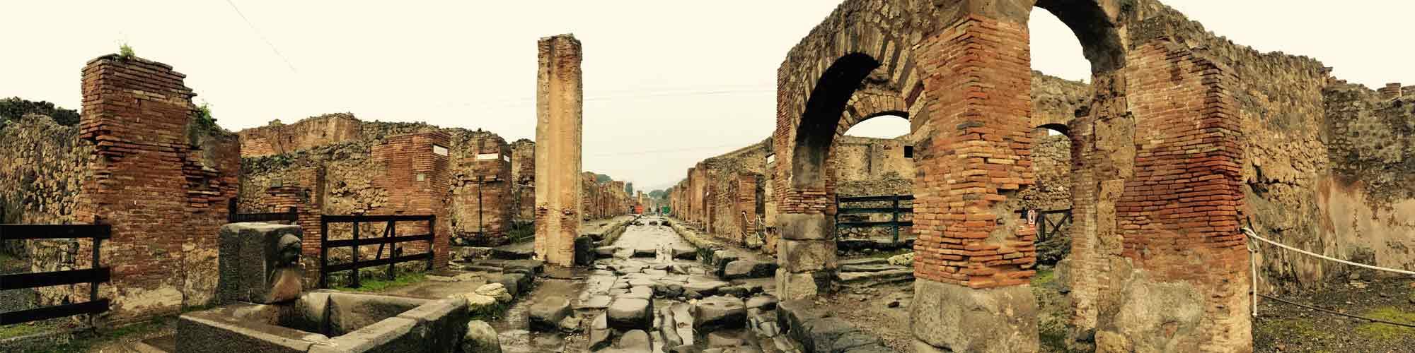 Viaje por la Pompeya de Goethe - El país viajes