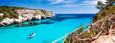 paissatge d'una cala de Mallorca