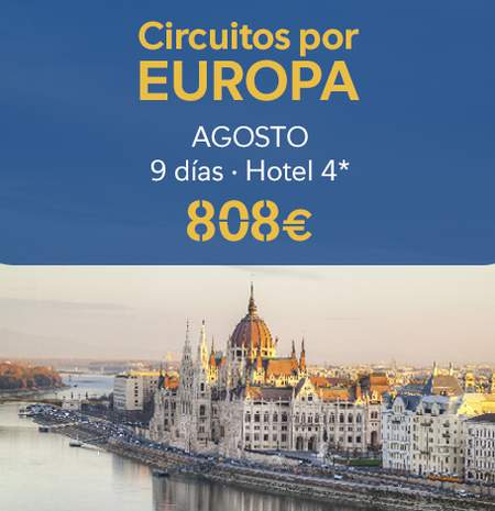 Ofertas Circuitos por Europa - B the travel brand