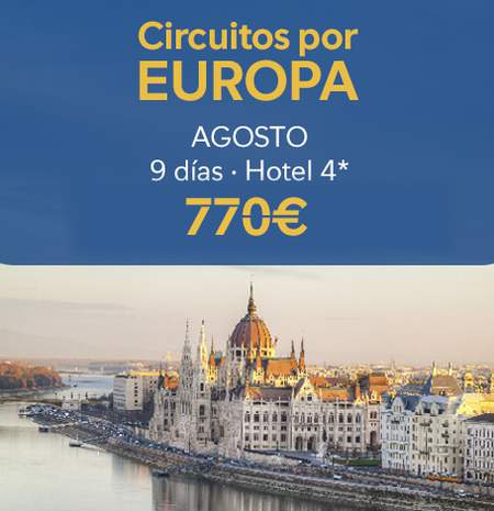 Ofertas Circuitos por Europa - B the travel brand